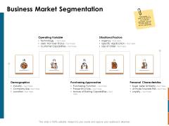 Key Statistics Of Marketing Business Market Segmentation Ppt PowerPoint Presentation Professional PDF