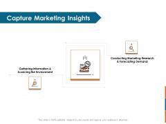 Key Statistics Of Marketing Capture Marketing Insights Ppt PowerPoint Presentation Model PDF