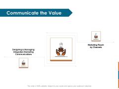 Key Statistics Of Marketing Communicate The Value Ppt PowerPoint Presentation Layouts Maker PDF