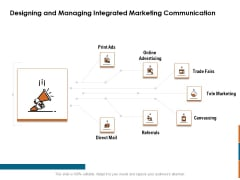 Key Statistics Of Marketing Designing And Managing Integrated Marketing Communication Ppt PowerPoint Presentation Show Smartart PDF