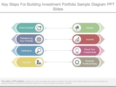 Key Steps For Building Investment Portfolio Sample Diagram Ppt Slides