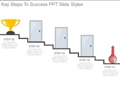 Key Steps To Success Ppt Slide Styles