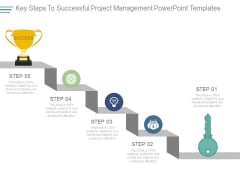Key Steps To Successful Project Management Powerpoint Templates