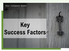 Key Success Factors Clock Stand Ppt PowerPoint Presentation Complete Deck