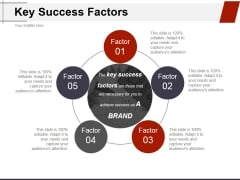 Key Success Factors Ppt PowerPoint Presentation File Background Designs