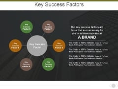 Key Success Factors Ppt PowerPoint Presentation Model Background