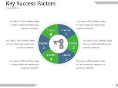 Key Success Factors Ppt PowerPoint Presentation Shapes