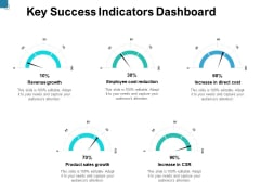 Key Success Indicators Dashboard Ppt PowerPoint Presentation File Backgrounds