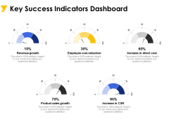 Key Success Indicators Dashboard Ppt PowerPoint Presentation Infographic Template Portfolio