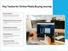Key Tactics For Online Media Buying Journey Ppt PowerPoint Presentation File Master Slide PDF