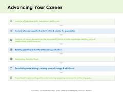 Key Team Members Advancing Your Career Ppt Model Graphics Design PDF