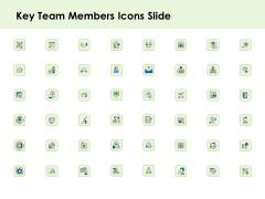 Key Team Members Icons Slide Ppt Show Sample PDF