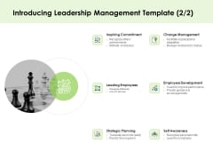 Key Team Members Introducing Leadership Management Planning Ppt File Elements PDF