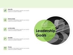 Key Team Members Leadership Goals Ppt Outline Clipart PDF