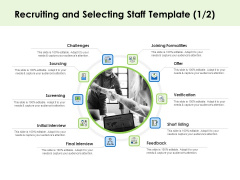 Key Team Members Recruiting And Selecting Staff Ppt Styles Slide Download PDF