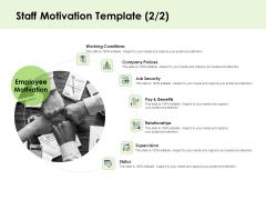 Key Team Members Staff Motivation Security Ppt Outline Gridlines PDF