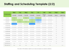 Key Team Members Staffing And Scheduling Employees Ppt Infographics Slide Portrait PDF