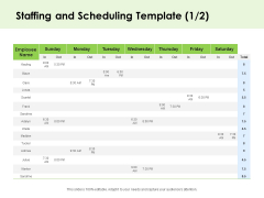 Key Team Members Staffing And Scheduling Ppt Slides Background Designs PDF