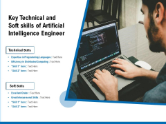 Key Technical And Soft Skills Of Artificial Intelligence Engineer Ppt PowerPoint Presentation Icon Graphics PDF