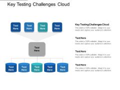 Key Testing Challenges Cloud Ppt PowerPoint Presentation Infographics Slide Portrait Cpb