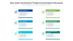 Key Users Involved In Project Governance Structure Ppt PowerPoint Presentation Gallery Structure PDF