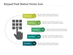 Keypad Push Button Vector Icon Ppt PowerPoint Presentation File Graphic Images PDF