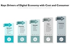 Keys Drivers Of Digital Economy With Cost And Consumer Ppt PowerPoint Presentation Summary Brochure