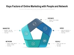 Keys Factors Of Online Marketing With People And Network Ppt PowerPoint Presentation Layout
