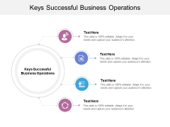 Keys Successful Business Operations Ppt Powerpoint Presentation Layouts Outfit Cpb