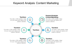 Keyword Analysis Content Marketing Ppt PowerPoint Presentation Diagram Ppt Cpb