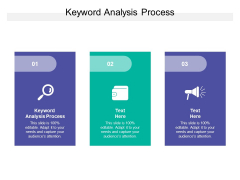 Keyword Analysis Process Ppt PowerPoint Presentation Styles Example Cpb