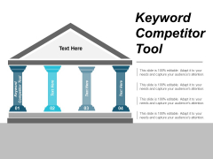 Keyword Competitor Tool Ppt PowerPoint Presentation Layouts Portrait Cpb