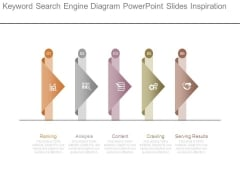 Keyword Search Engine Diagram Powerpoint Slides Inspiration