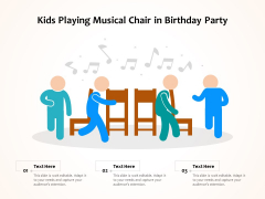 Kids Playing Musical Chair In Birthday Party Ppt PowerPoint Presentation File Background Image PDF