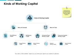 Kinds Of Working Capital Ppt PowerPoint Presentation Styles Backgrounds