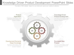 Knowledge Driven Product Development Powerpoint Slides