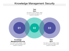 Knowledge Management Security Ppt PowerPoint Presentation Show Inspiration Cpb