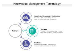Knowledge Management Technology Ppt PowerPoint Presentation Layouts Ideas Cpb