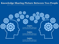 Knowledge Sharing Picture Between Two People Ppt PowerPoint Presentation Slides Structure PDF