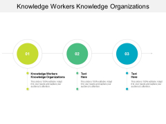 Knowledge Workers Knowledge Organizations Ppt PowerPoint Presentation Ideas Rules Cpb