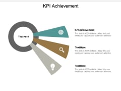 Kpi Achievement Ppt PowerPoint Presentation Gallery Background Image Cpb