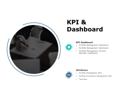 Kpi And Dashboard Ppt PowerPoint Presentation Show Influencers