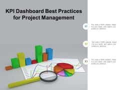 Kpi Dashboard Best Practices For Project Management Ppt Powerpoint Presentation Outline Samples