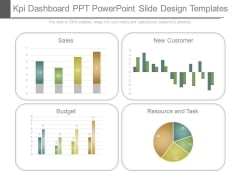 Kpi Dashboard Ppt Powerpoint Slide Design Templates