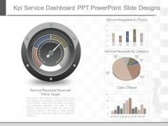 Kpi Service Dashboard Ppt Powerpoint Slide Designs