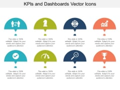 Kpis And Dashboards Vector Icons Ppt Powerpoint Presentation Infographics Outline