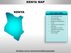 Kenya powerpoint maps powerpoint templates slides and graphics kenya powerpoint maps toneelgroepblik Image collections
