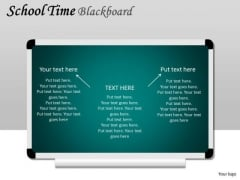 Kids School Time Blackboard PowerPoint Slides And Ppt Diagram Templates