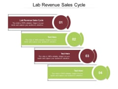 Lab Revenue Sales Cycle Ppt PowerPoint Presentation Styles Example Topics Cpb Pdf