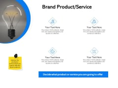 Label Building Initiatives Brand Product Service Ppt Portfolio Outfit PDF